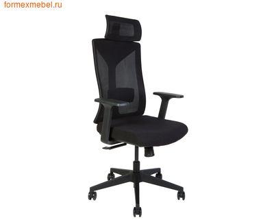 Компьютерное кресло NORDEN БОСТОН черный пластик, ткань черная (фото)