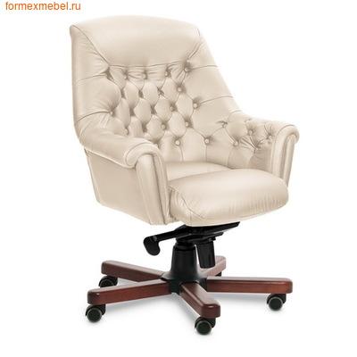 Кресло руководителя Zurich B натуральная кожа бежевая (фото)