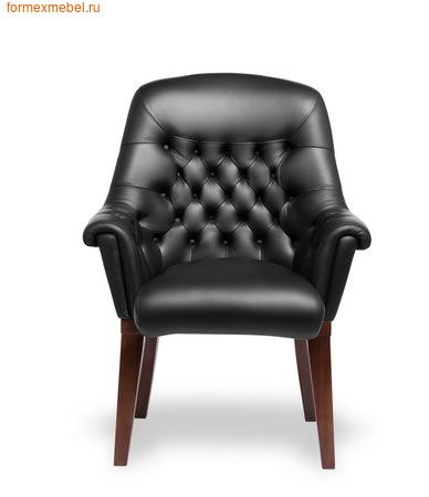 Кресло для отдыха Мульти офис Zurich C натуральная кожа черная (фото)