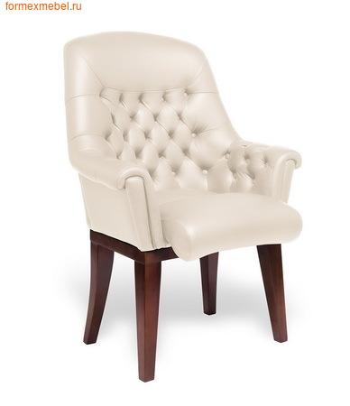 Кресло для отдыха Мульти офис Zurich C натуральная кожа бежевая (фото)