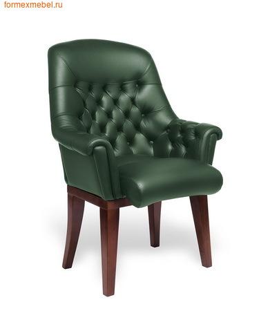 Кресло для отдыха Мульти офис Zurich C натуральная кожа зеленая (фото)