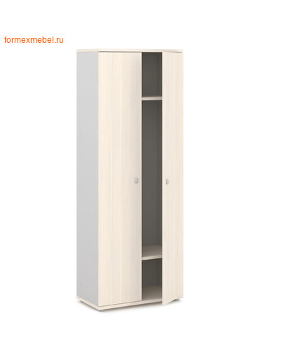 Шкаф для одежды ЭКСПРО V-721 дуб кобург/металлик (фото)