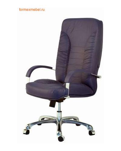 Кресло руководителя ТАНГО Стандарт Хром , кожа+ кожзам  (фото)