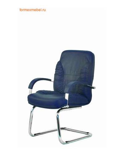 Кресло руководителя ТАНГО Стандарт Хром конференц , кожа (фото)