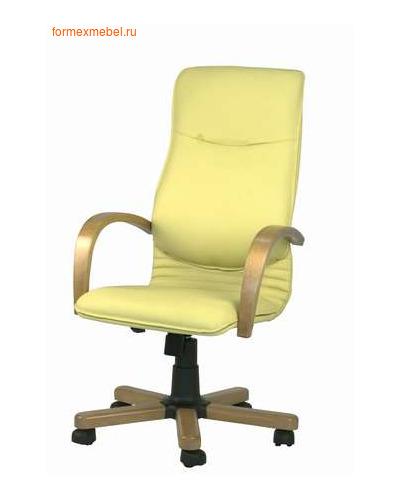 Кресло руководителя НОВА Экстра, кожа натуральная КОНСУЛ (фото)