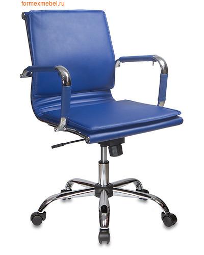 Компьютерное кресло Бюрократ СН-993 Low синее (фото)