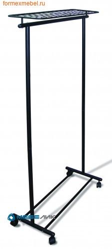 Вешалка напольная гардеробная М9 черный (фото)