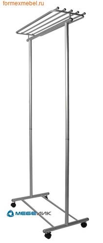 Вешалка напольная гардеробная М9 металлик (фото)