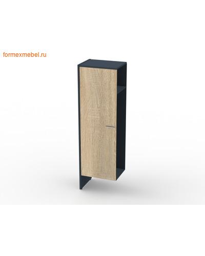 Шкаф для одежды ЭКСПРО ИННОВАЦИЯ Офисная мебель I-644 Дополнителная секция для шкафа для одежды дуб сонома/антрацит (фото)
