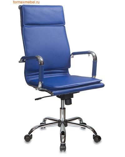 Компьютерное кресло Бюрократ CH-993 синяя иск. кожа (фото)