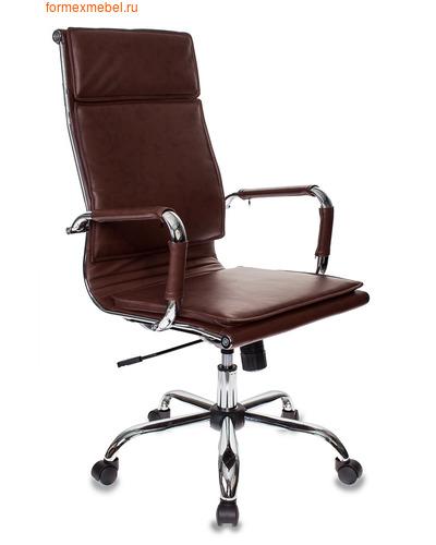 Компьютерное кресло Бюрократ CH-993 коричневая иск. кожа (фото)