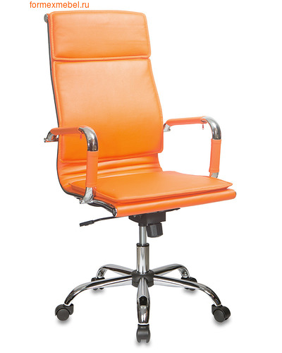 Компьютерное кресло Бюрократ CH-993 оранжевое (фото)