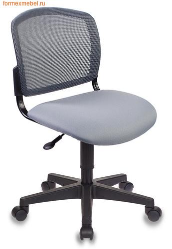 Компьютерное кресло Бюрократ CH-296NX CH-296 серая ткань (фото)