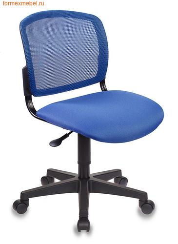 Компьютерное кресло Бюрократ CH-296NX CH-296 синяя ткань (фото)