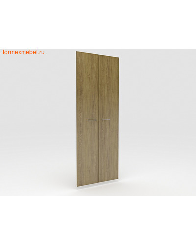 Дверь ЛДСП ЭКСПРО PUBLIC P-030 Двери высокие Дуб Сантана золотистый (фото)