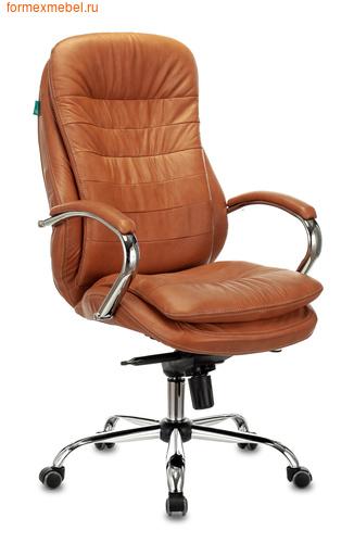 Кресло руководителя Бюрократ T-9950AXSN коричневое (фото)