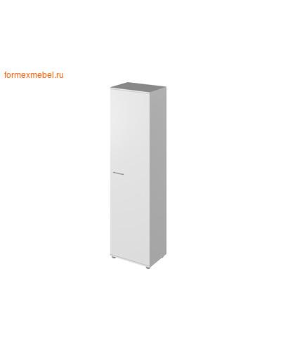 Шкаф для документов ЭКСПРО PUBLIC P-561 шкаф узкий белый (фото)