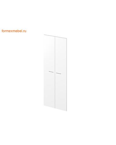 Дверь ЛДСП ЭКСПРО PUBLIC P-030 Двери высокие белый (фото)