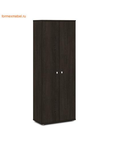 Шкаф для документов ЭКСПРО V-601  закрытый дуб Кентербери (фото)