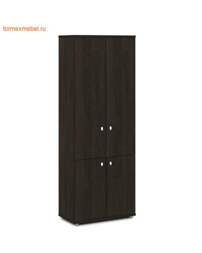 Шкаф для документов ЭКСПРО V-602 закрытый, 4 двери Дуб Кентербери (фото)