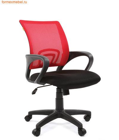 Компьютерное кресло Chairman CH-696 красная сетка (фото)