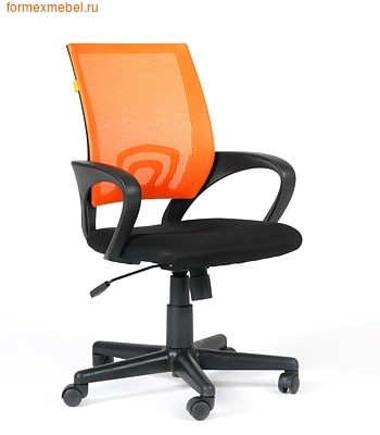 Компьютерное кресло Chairman CH-696 оранжевая сетка (фото)