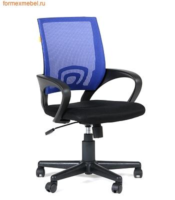 Компьютерное кресло Chairman CH-696 синяя сетка (фото)