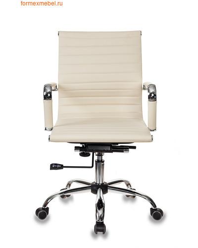 Кресло для посетителей офисное Бюрократ CH-883 Low CH-883 Low/Ivory беж (фото)