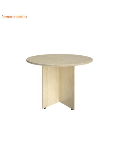 Стол для совещаний А.ПРГ-1 круглый клен, белый, венге, венге-металлик, клен-металлик (фото)