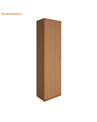 Шкаф для одежды А.ГБ-1 узкий орех гварнери, груша ароза серый (фото)