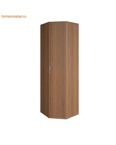 Шкаф для одежды А.ГБ-3 угловой орех гварнери, груша ароза серый (фото)