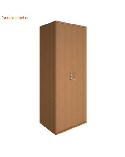 Шкаф для одежды А.ГБ-2 глубокий широкий орех гварнери, груша ароза серый (фото)