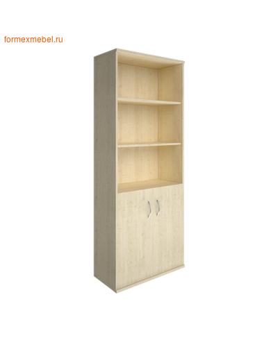 Шкаф для документов А.СТ-1.1 полуоткрытый клен, белый, венге, венге-металлик, клен-металлик (фото)