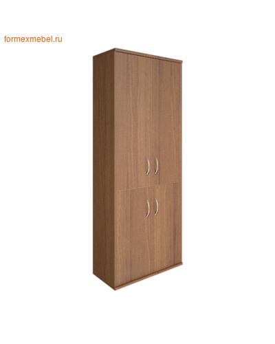 Шкаф для документов А.СТ-1.3   4 двери орех гварнери, груша ароза серый (фото)