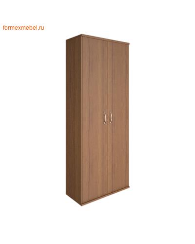 Шкаф для документов А.СТ-1.9 закрытый орех гварнери, груша ароза серый (фото)