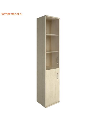 Шкаф для документов А-СУ-1.2 Л/Пр со стеклом ЛЕВЫЙ клен, белый, венге, венге-металлик, клен-металлик (фото)