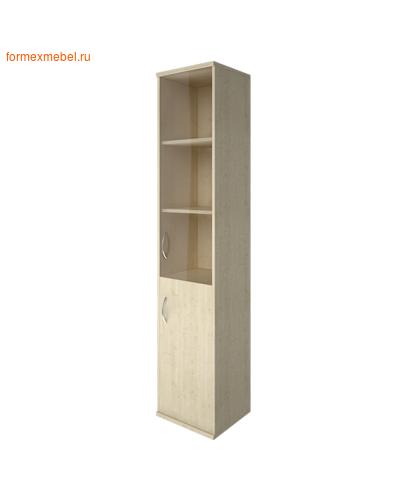 Шкаф для документов А-СУ-1.2 Л/Пр со стеклом ПРАВЫЙ клен, белый, венге, венге-металлик, клен-металлик (фото)