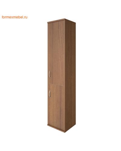 Шкаф для документов А.СУ-1.3 Л/Пр  2 двери ПРАВЫЙ орех гварнери, груша ароза серый (фото)
