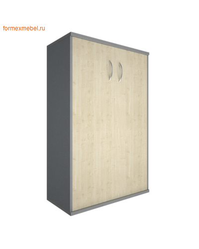 Шкаф для документов А.СТ-2.3 средний широкий закрытый клен, белый, венге, венге-металлик, клен-металлик (фото)
