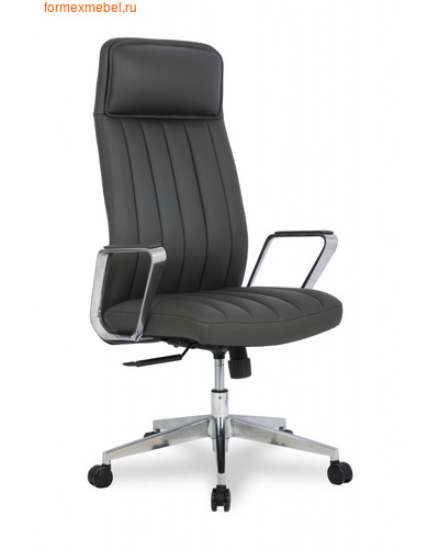 Кресло руководителя College HLC 2413L кожа темно-серая (фото)