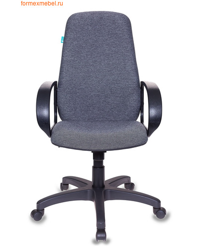 Компьютерное кресло Бюрократ CH-808AXSN ткань рогожка серая 3C1  (фото)