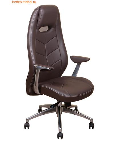 Кресло руководителя Бюрократ ZEN ZEN_Brown   коричневая  кожа (фото)