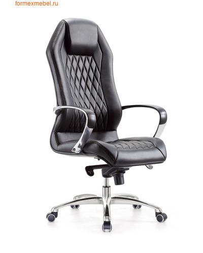 Кресло руководителя Бюрократ AURA AURA_Black  черная кожа (фото)