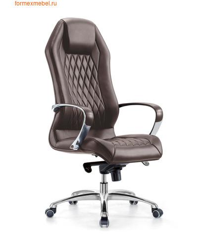 Кресло руководителя Бюрократ AURA AURA_Brown   коричневая кожа (фото)