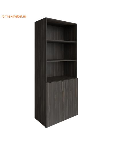 Шкаф для документов LT-ST 1.1 полуоткрытый суар темный (фото)