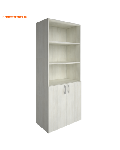 Шкаф для документов LT-ST 1.1 полуоткрытый снежная патина (фото)