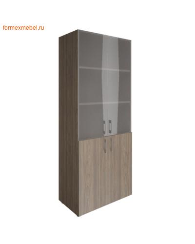 Шкаф для документов со стеклом LT-ST 1.2 вяз благородный (фото)