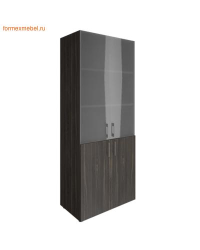 Шкаф для документов со стеклом LT-ST 1.2 суар темный (фото)