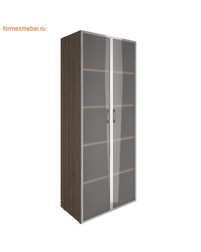 Шкаф для документов с высоким стеклом LT-ST 1.10R вяз благородный (фото)