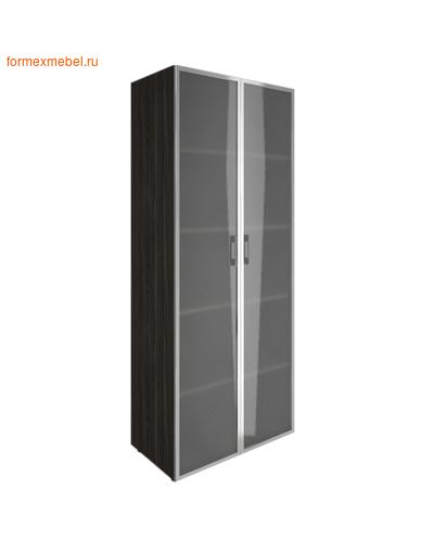 Шкаф для документов с высоким стеклом LT-ST 1.10R суар темный (фото)